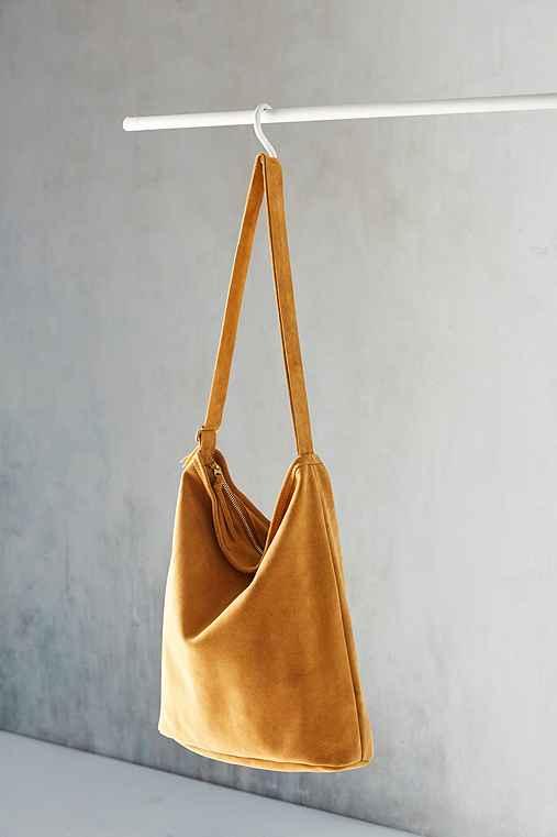 Artemis Suede Shoulder Bag,BROWN,ONE SIZE