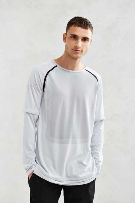 Puma X Stampd Mesh Double Layer Long-Sleeve Tee