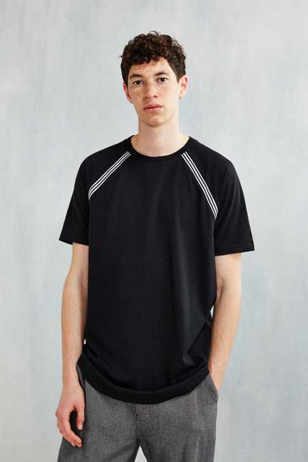 The Narrows Tipped Raglan Tee