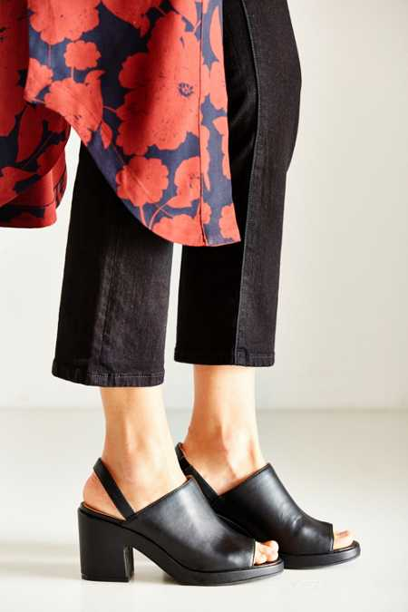 Florence Vegan Leather Slingback Heel