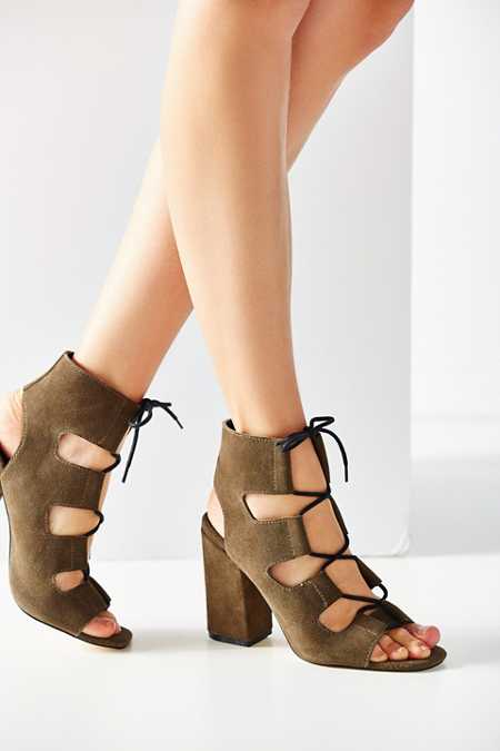 Lace-Up Heel