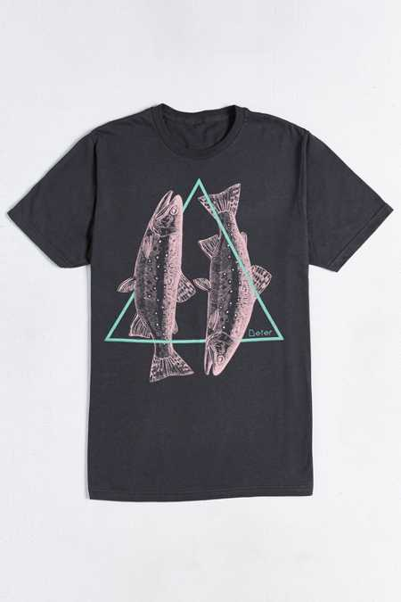 Deter Geometric Trout Tee