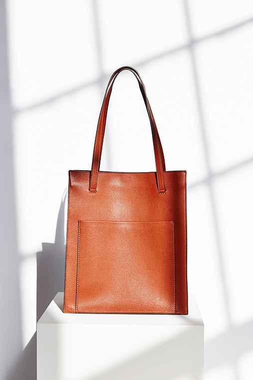 BDG Classic Tote Bag,BROWN,ONE SIZE