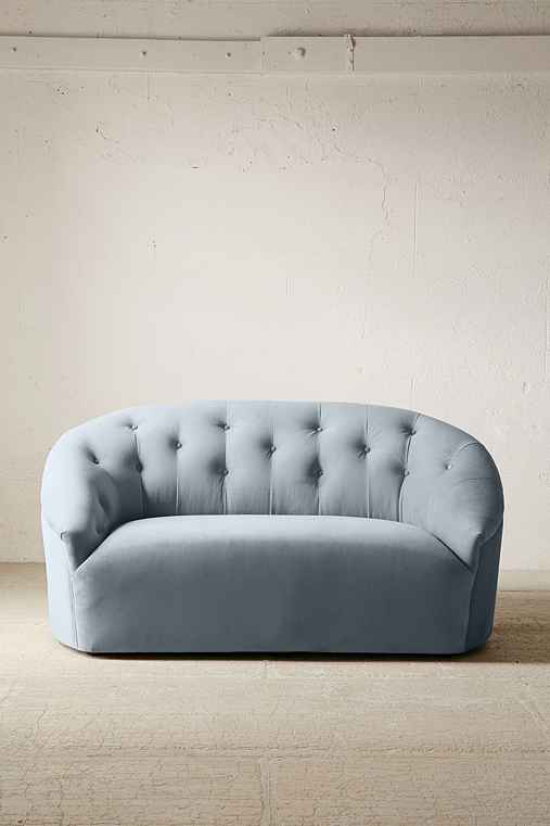Hollywood Settee,GREY,ONE SIZE