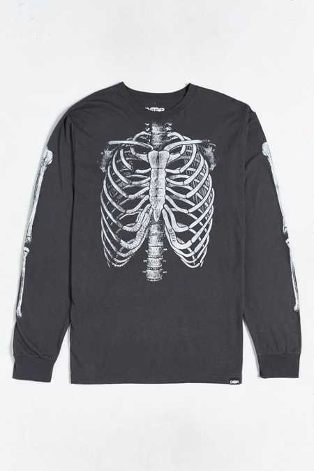 Deter Skeleton Long-Sleeve Tee