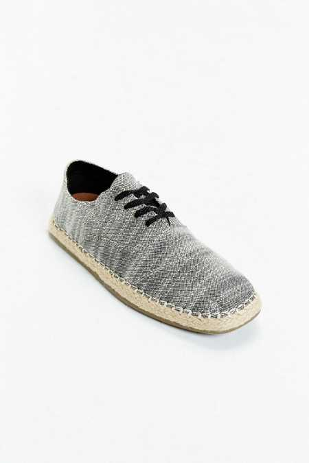 TOMS Camino Woven Lace-Up Shoe