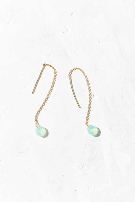 Delicate Disco Threader Earring