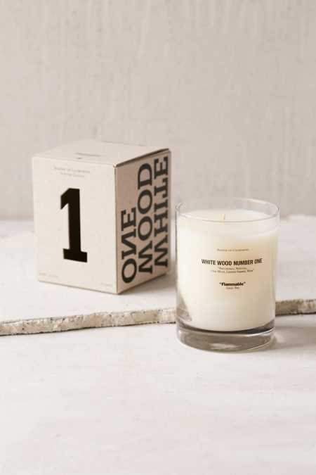 Baxter Of California White Woods Candle