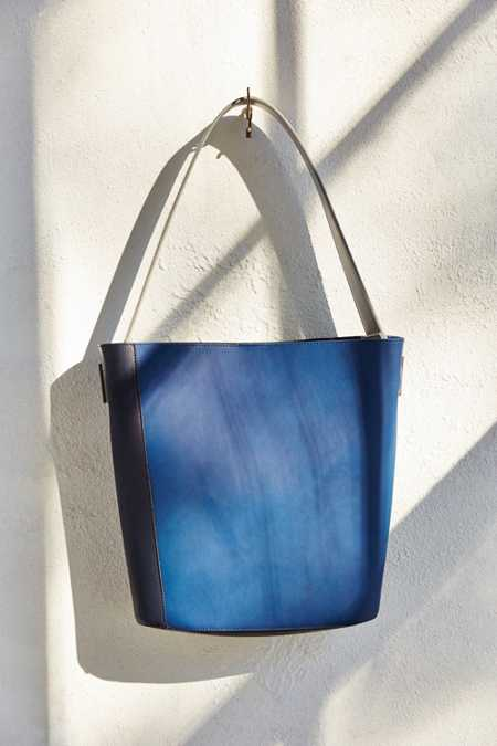 Silence + Noise Colorblocked Bucket Bag