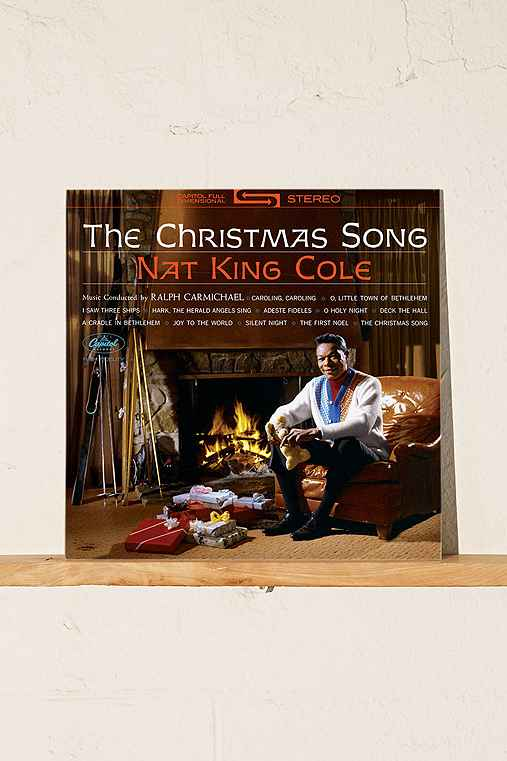 Nat King Cole - The Christmas Song LP,BLACK,ONE SIZE