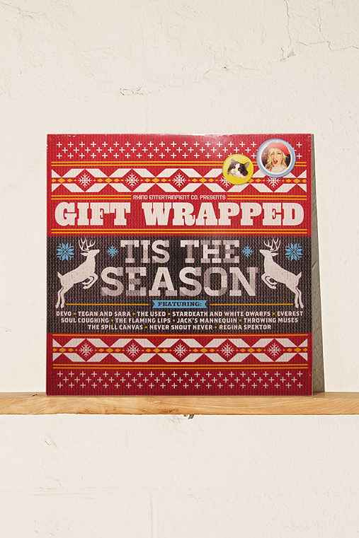 Various Artists - Gift Wrapped: 'Tis The Season LP,BLACK,ONE SIZE