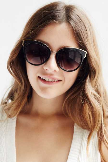 VIP Cat-Eye Sunglasses