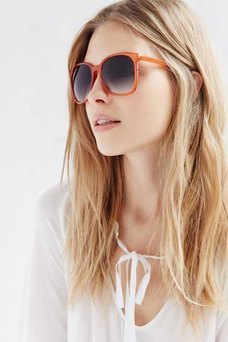 Diana Slim Square Sunglasses