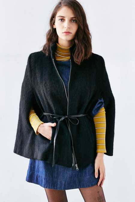 BB Dakota Zoey Cape Coat