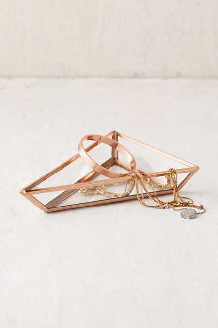 Triangle Glass Catch-All Dish
