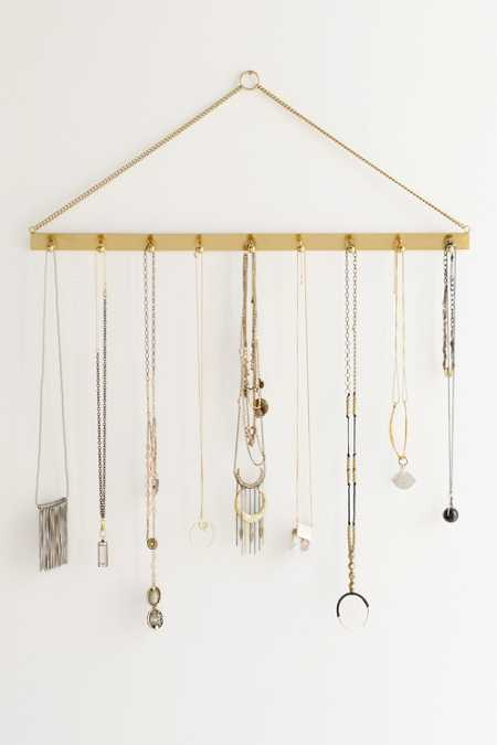 Camille Hanging Jewelry Storage Bar - Urban Outfitters