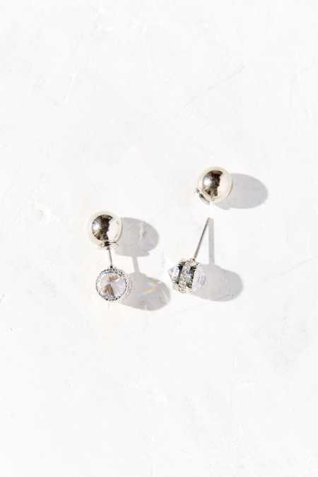 Forbidden Gem Front/Back Earring