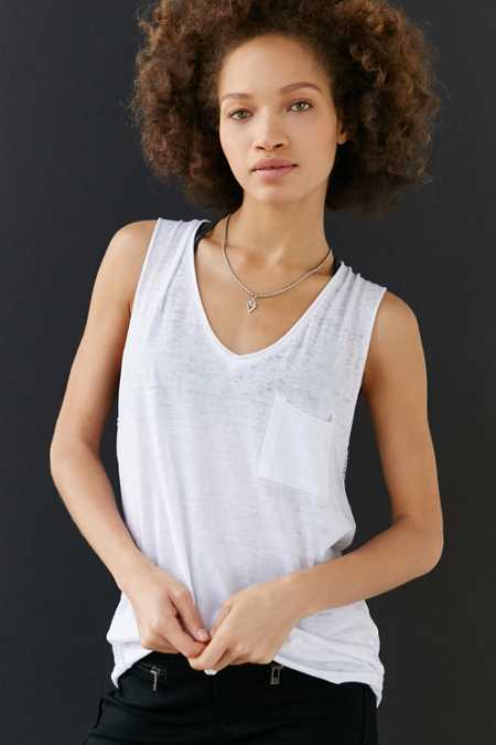 Mouchette Warm Breeze Pocket Tank
