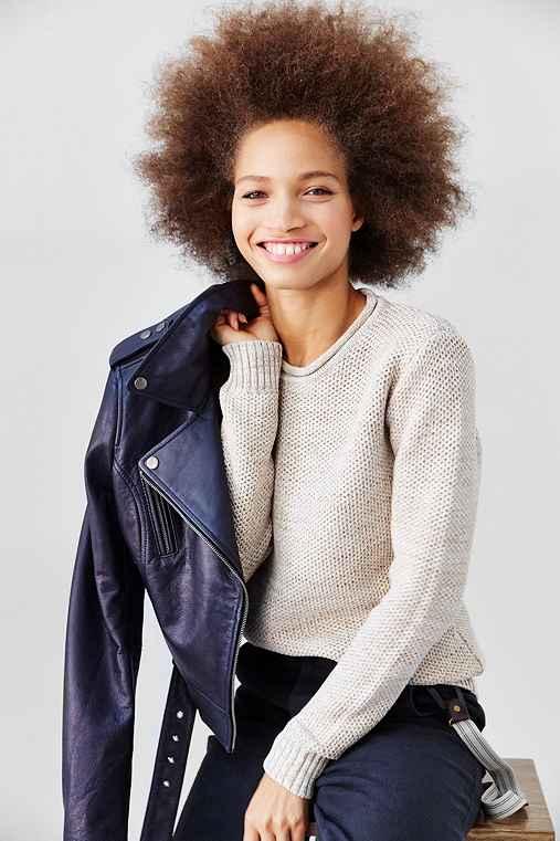 O'Hanlon Mills Calhoun Unisex Pullover Sweater,CREAM,XL