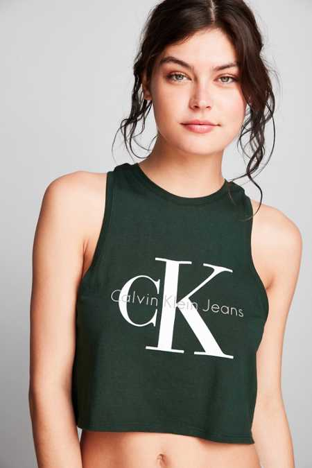 Calvin Klein Cropped Tank Top