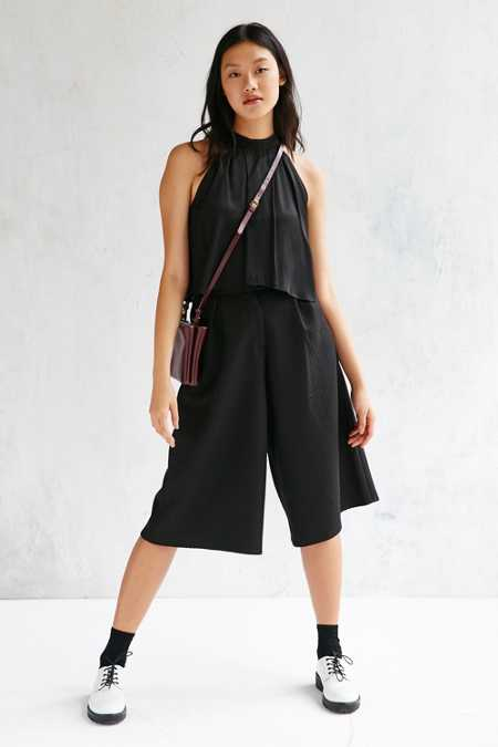 Native Youth Jacquard Smart Culotte Pant