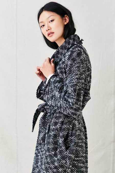 Urban Renewal Remade Boucle Blanket Coat