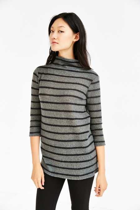 BDG Lane Cozy Mock-Neck Tunic Top