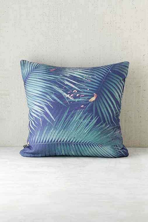 Catherine McDonald For DENY Rainforest Floor Pillow,GREEN,18