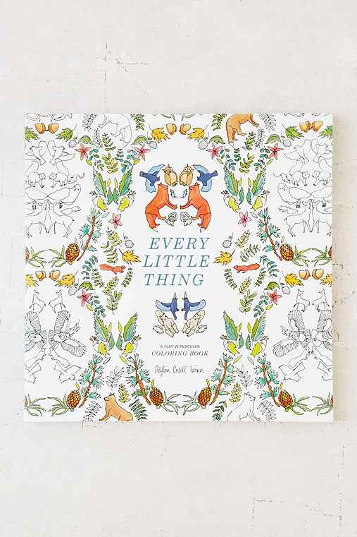 Every Little Thing A Flat Vernacular Coloring Book By