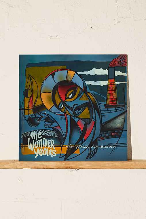 The Wonder Years - No Closer To Heaven LP,BLACK,ONE SIZE