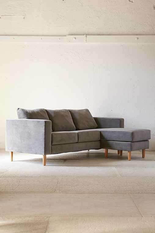 Quincy chaise sectional sofa urban outfitters for Quincy sectional sofa