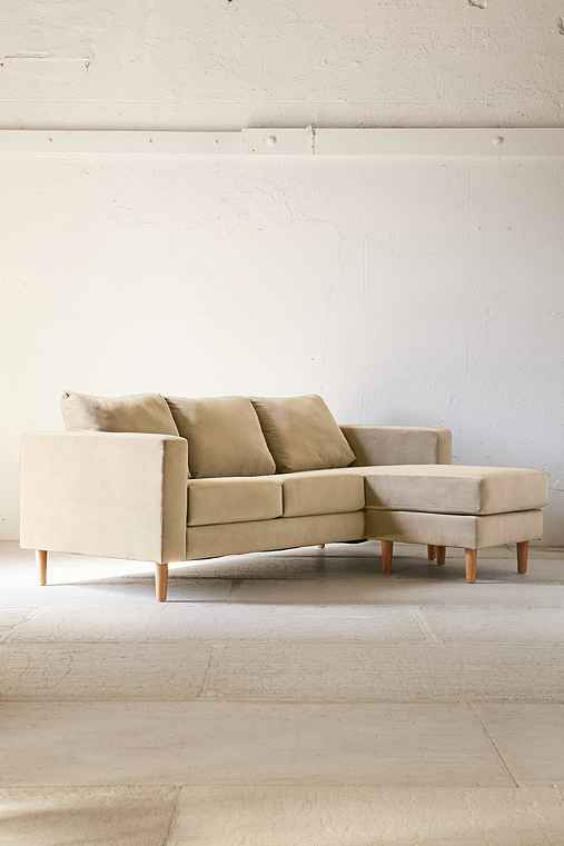 quincy chaise sectional sofa urban outfitters With quincy chaise sectional sofa