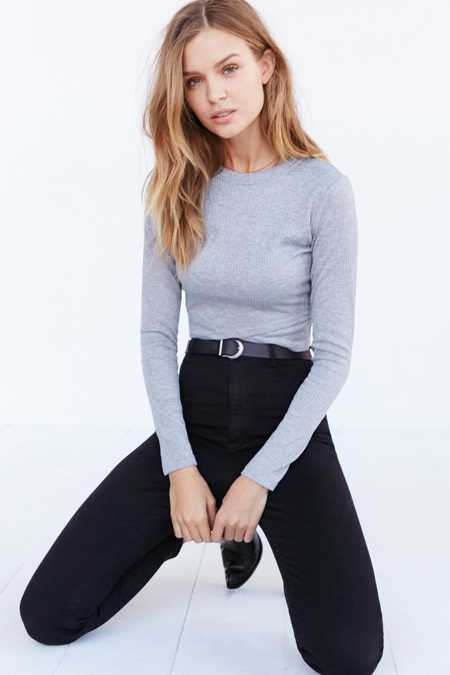 Silence + Noise Noelle Cropped Top