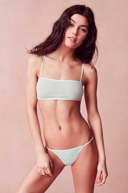 Out From Under Aurora Mesh Bandeau Bra