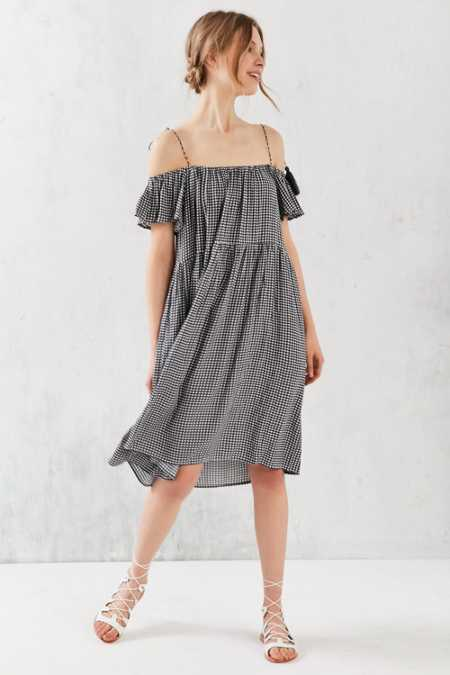 Little White Lies Francoise Off-The-Shoulder Dress