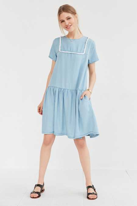 Little White Lies Suki Chambray Shift Dress