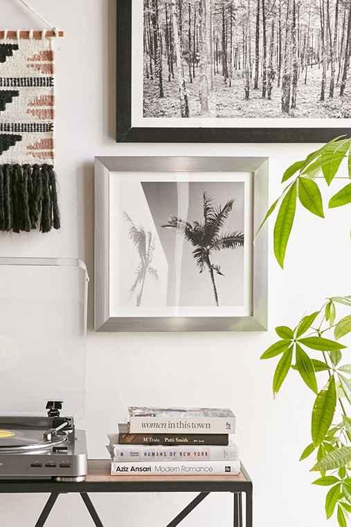 Max Wanger Palm Art Print,SILVER MATTE FRAME,16X16