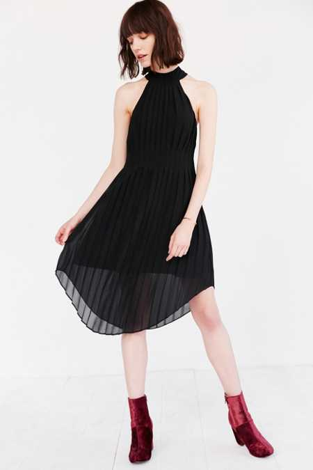 Keepsake Translation Pleated Midi Dress