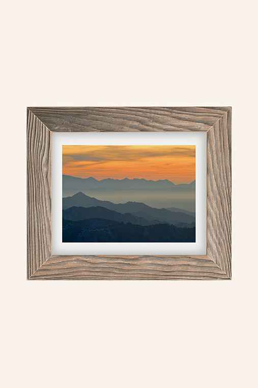 Guido Montanes Sunset Mountains Art Print,BUFF BARNWOOD,8X10