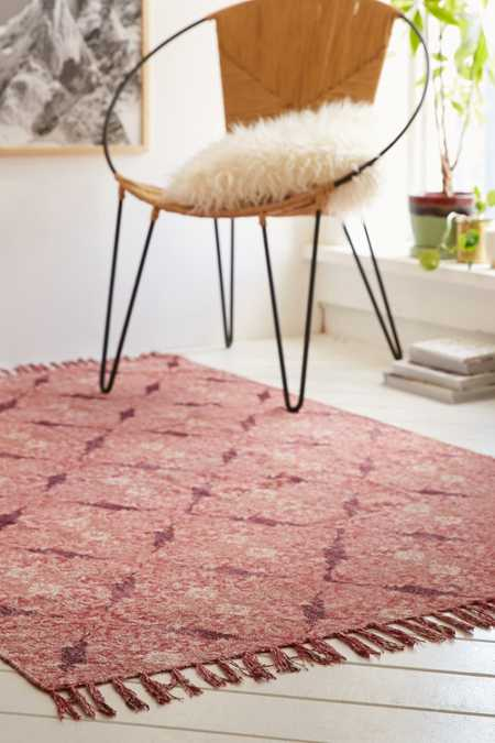 Magical Thinking Minu Worn Carpet Printed Rug