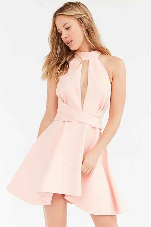 C/meo Collective I'm New Here Dress,PINK,M