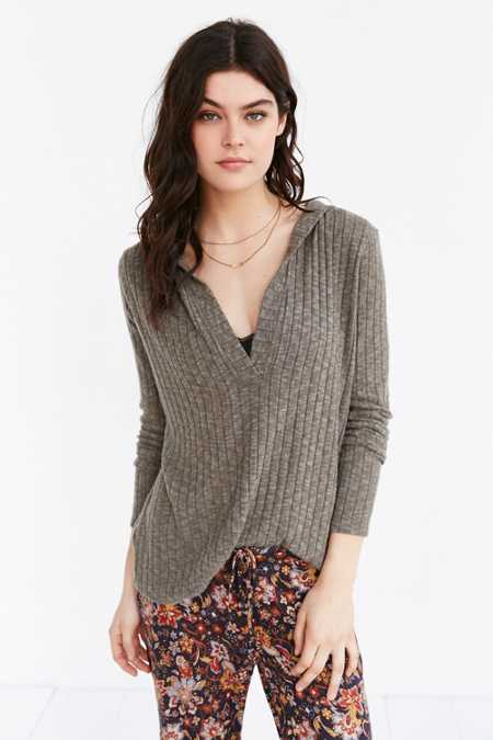 Out From Under Erin Ribbed Cozy Pullover Sweatshirt