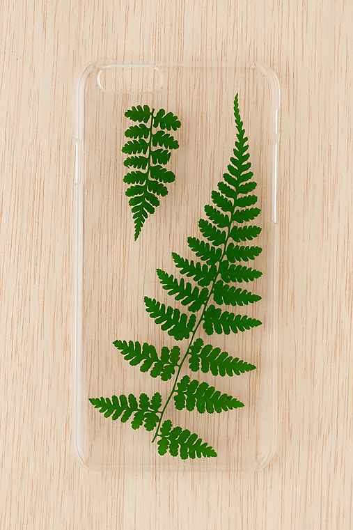 Pressed Ferns iPhone 6/6s Case,CLEAR,ONE SIZE