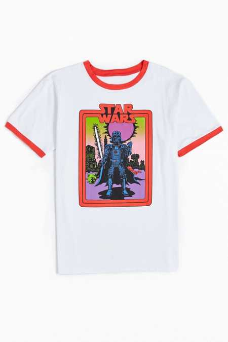 Star Wars X Will Sweeney Darth Vader Ringer Tee