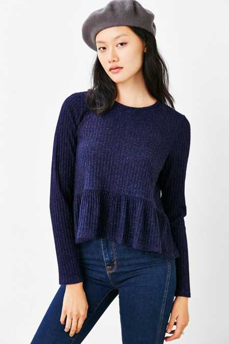 Kimchi Blue High/Low Babydoll Sweater