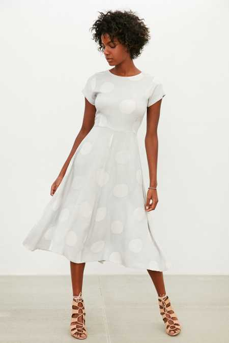 Della Christie Polka Dot Dress