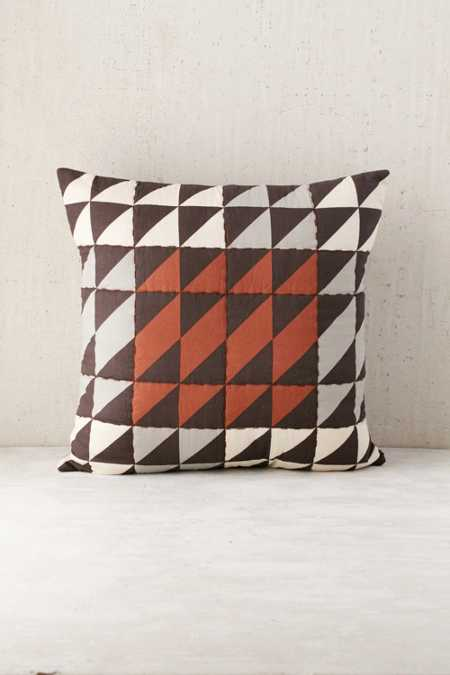 Assembly Home Claye Quilted Triangle Pillow
