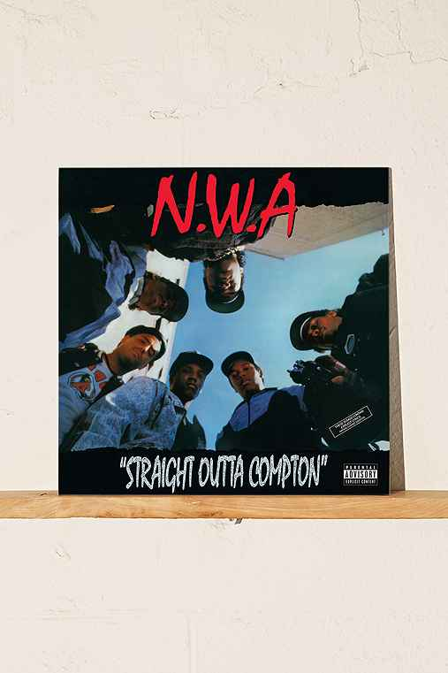 N.W.A. - Straight Outta Compton LP,BLACK,ONE SIZE