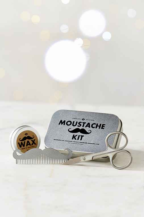 mens society moustache grooming kit urban outfitters. Black Bedroom Furniture Sets. Home Design Ideas