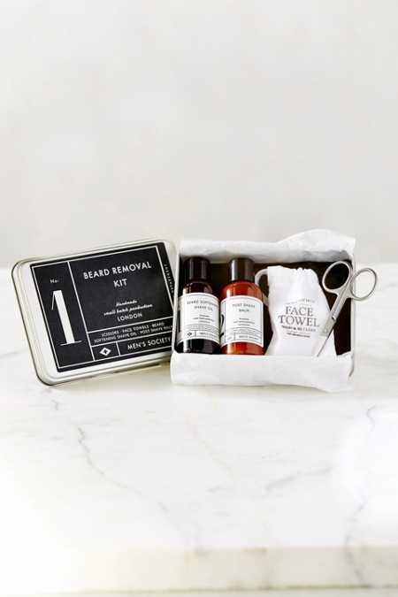 Men's Society No. 1 Beard Removal Kit